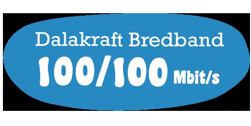 bredbånd 100 mbit