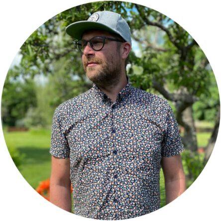 Daniel Olsson är verksamhetsledare på Dalapop